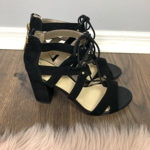 Circus by Sam Edelman Emilia Lace up block heels